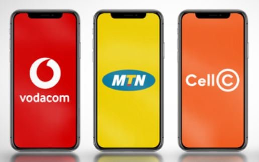 Vodacom, Cell C and MTN Airtime vouchers