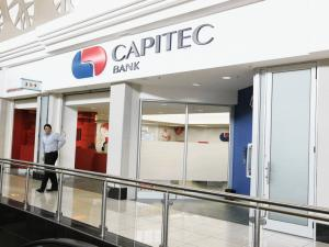 Mobile banking from Capitec Bank